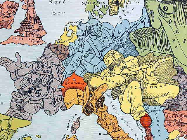 map of europe in 1914. EUROPE MAP HIGH